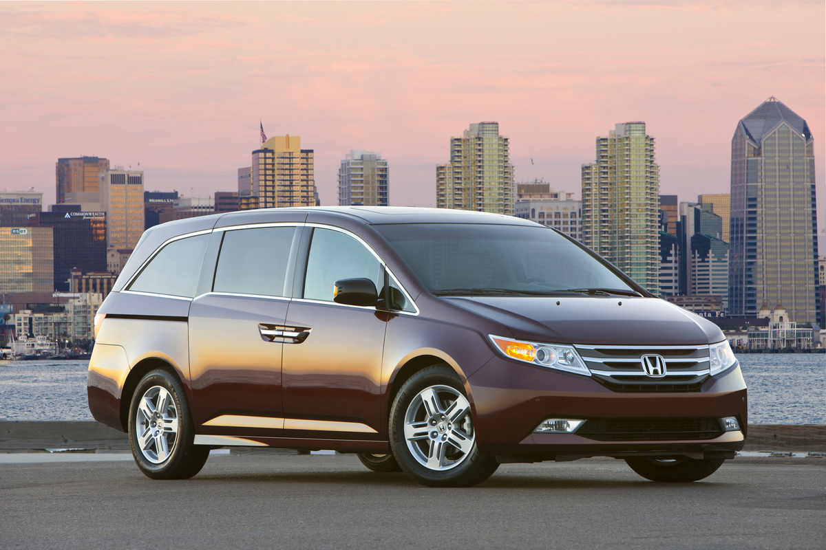 If a vehicle like the honda odyssey is one of the largest vehicles the company makes with the exception of the ridgeline truck and the new honda jet