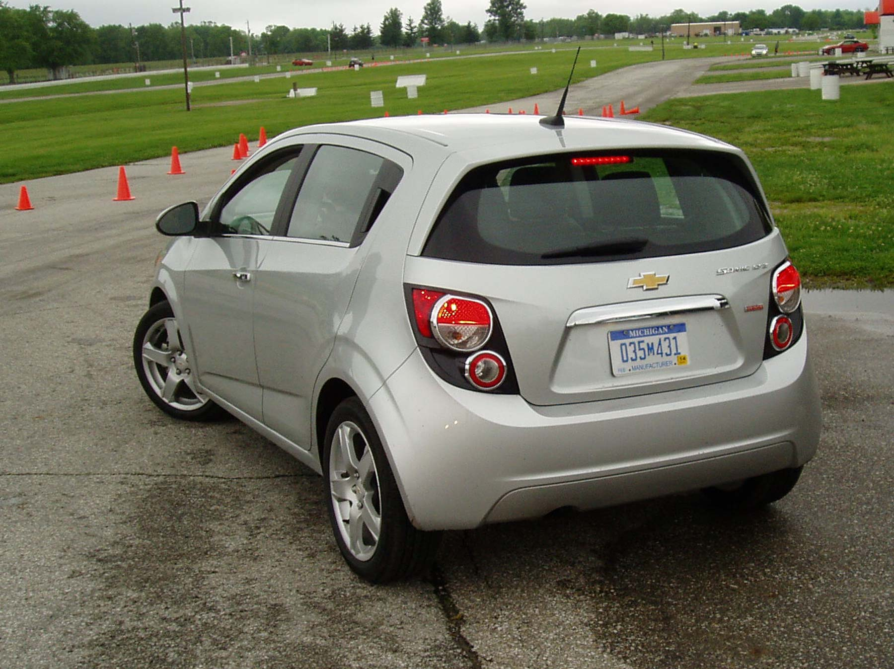 Test Drive 2012 Chevrolet Sonic 5Door Hatch  Our Auto Expert