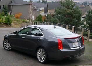 2013 Cadillac ATS - rear