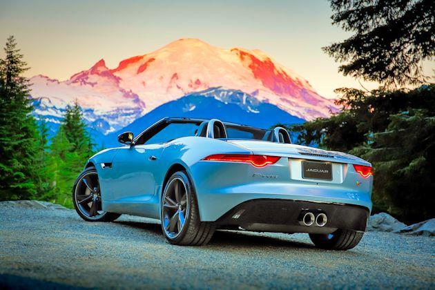 2014 Jaguar F-Type rear