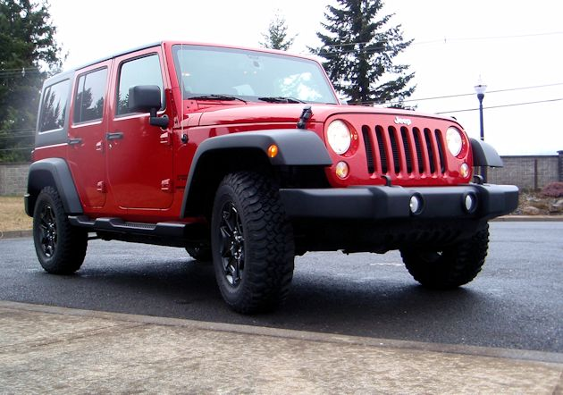 2014 Jeep Wrangler Unlimited front