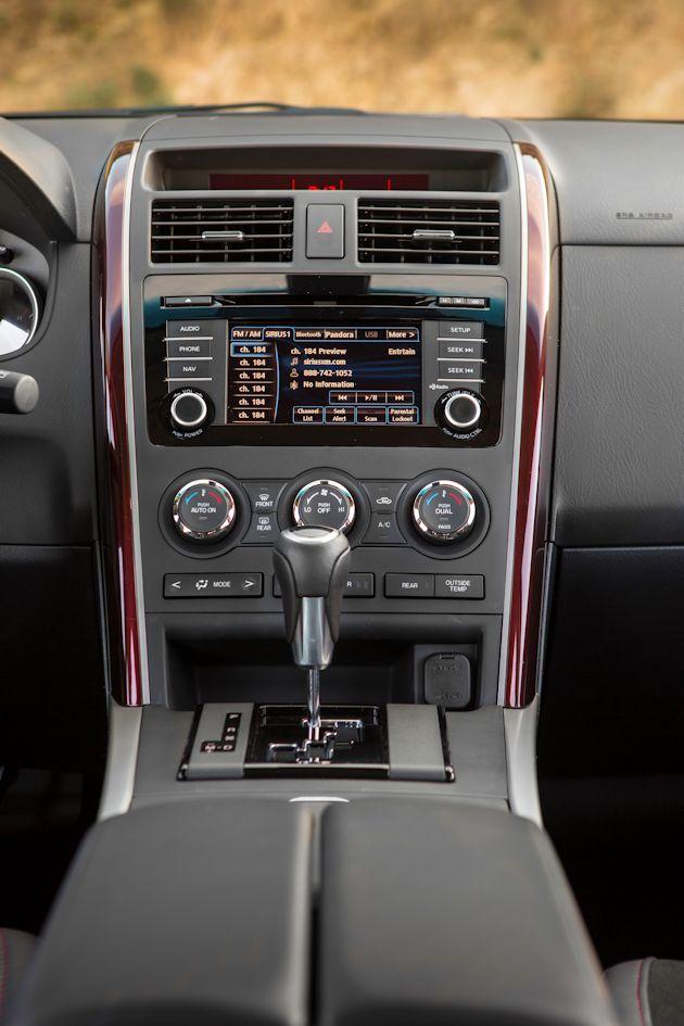 2014 Mazda CX-9 center stack