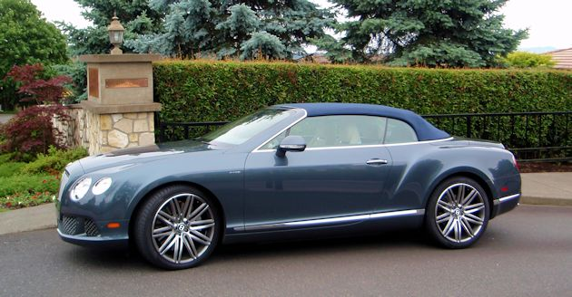 2014 Bentley Continental GTC top up side