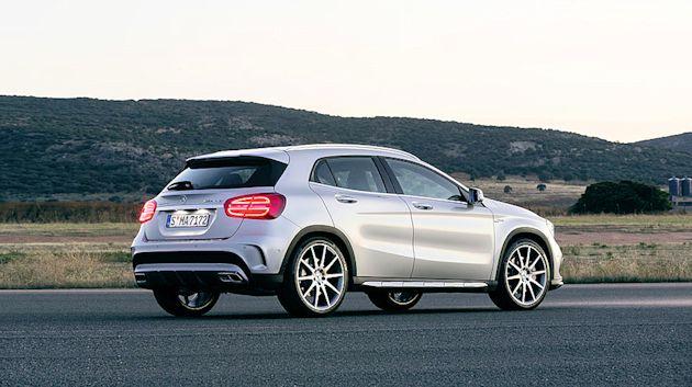 2014 Concept Awards MB GLA45 AMG rear
