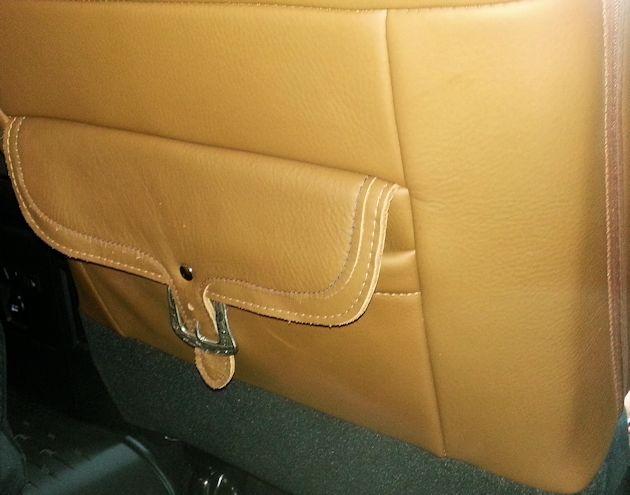 2014 Ram 2500 Longhorn seat back