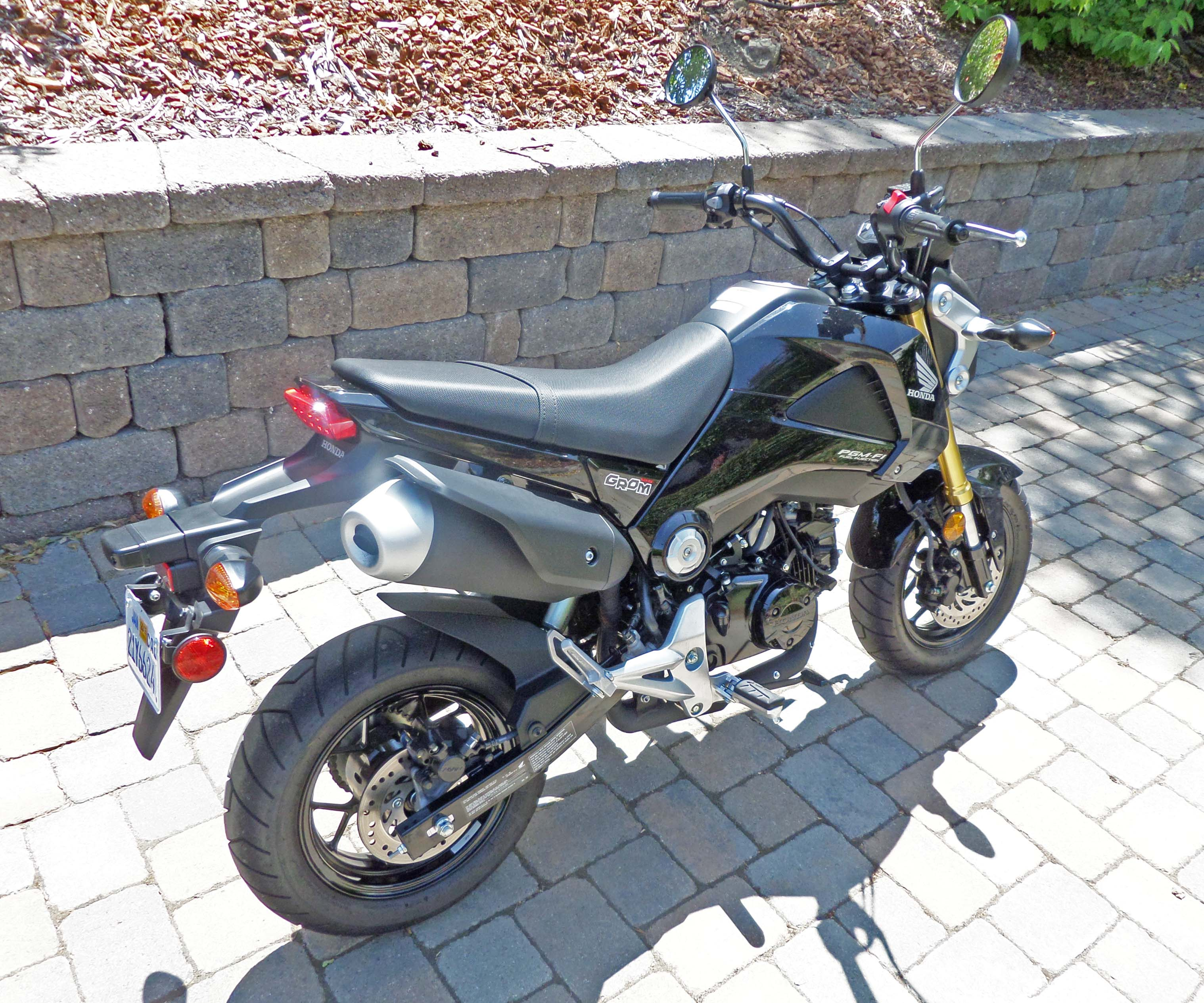 2014 Full Custom Honda Grom Street Fighter |Honda Grom Size