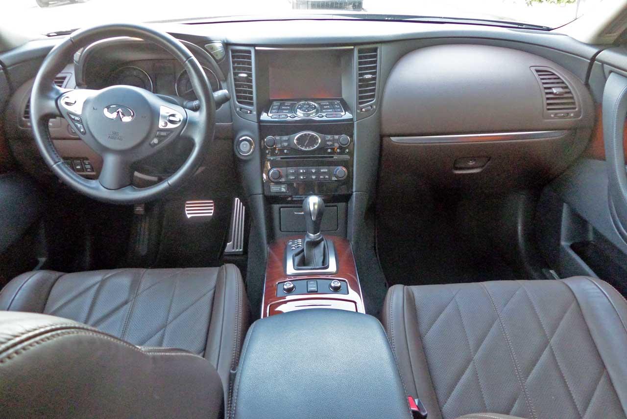 2014 infiniti qx70 awd test drive our auto expert infiniti qx70 dsh vanachro Choice Image