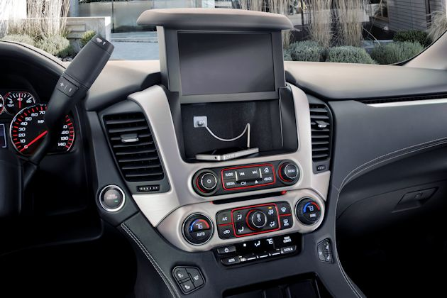 2015 GMC Yukon Denali dash compartment