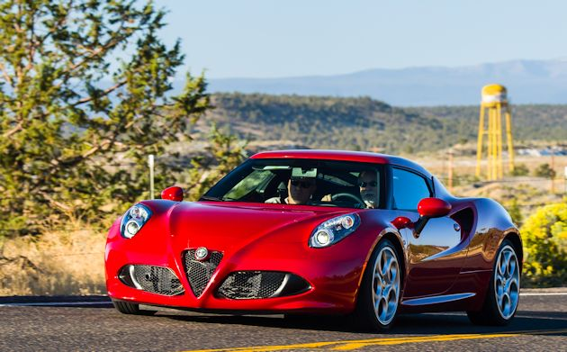 2014 Run to the Sun Part 1 Alfa Romeo C4