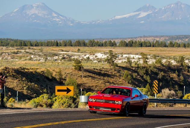 2014 Run to the Sun Part 1 Dodge Challenger Hellcat