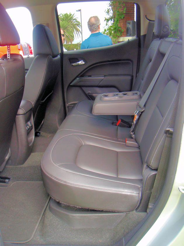2015 General Motors rear seat