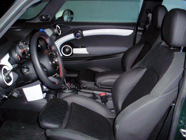 2015 Mini Cooper S interior 2