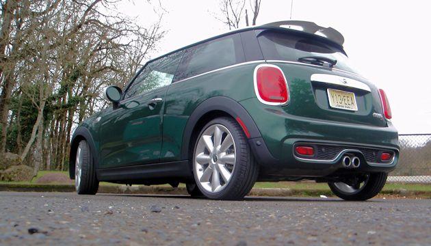 2015 Mini Cooper S rear q