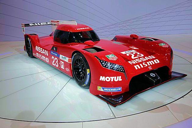 2016 Chicago - Nissan racecar