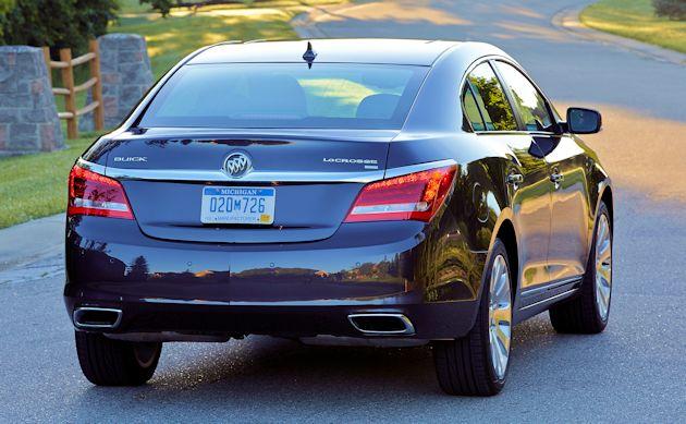 2015 Buick LaCrosse rear 2