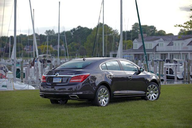 2015 Buick LaCrosse rear