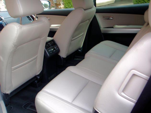 2015 Mazda CX-9 back seat