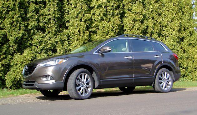 2015 Mazda CX-9 front q2