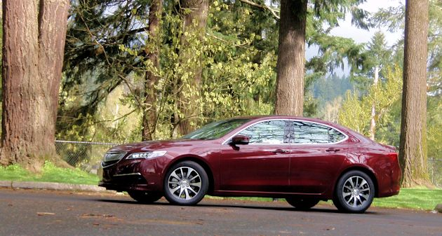 2015 Acura TLX side