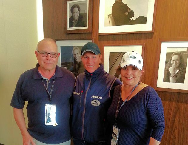 a2015 Land Rover Bill & Barb with Zara Phillips