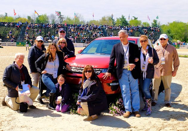 b2015 Land Rover group touring Jumping