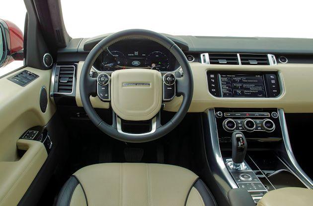 2015  Range Rover Sport dash