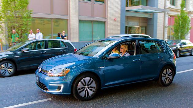 2015 VW e-Golf 2