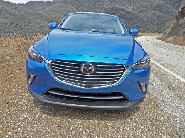 Mazda-CX-3-Nose