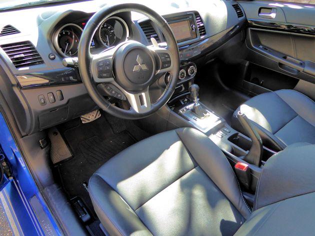 2015 Mitsubishi Lancer EVO interior