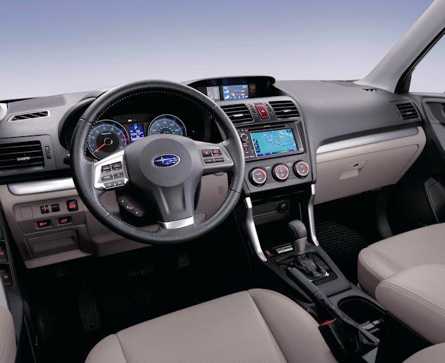 2016 Subaru Forester dash