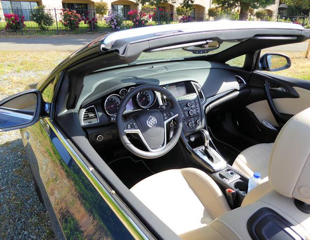 2016 Buick Cascada interior 2