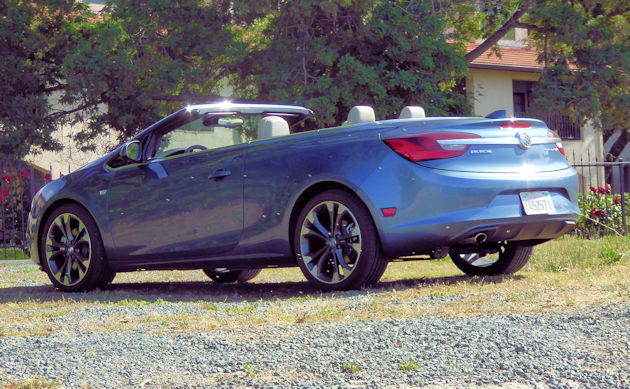 2016 Buick Cascada td rear q