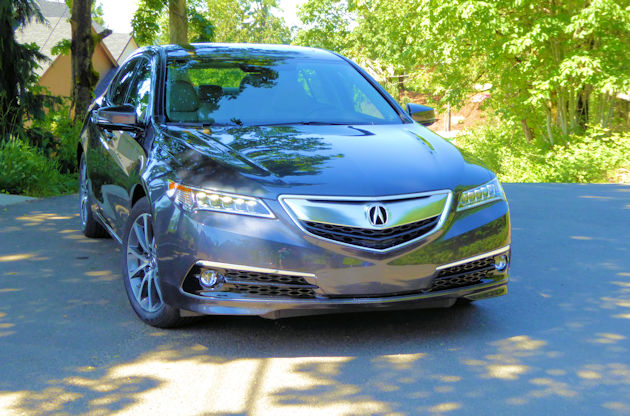 2016 Acura TLX front