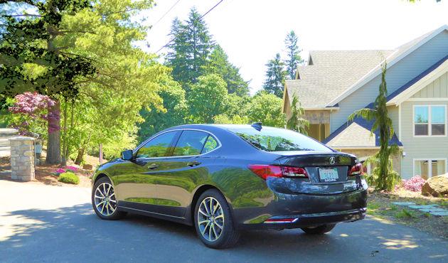 2016 Acura TLX rear q