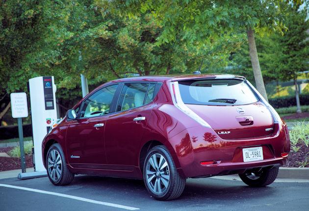2016 Nissan Leaf rear