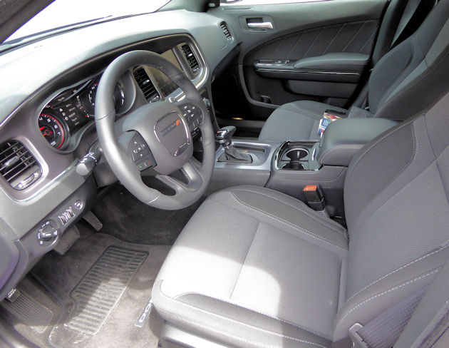 2016 Dodge Charger interior