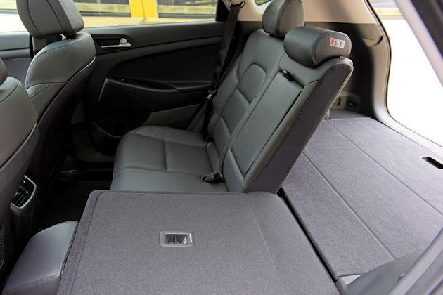 2017 Hyundai Tucson rear seat