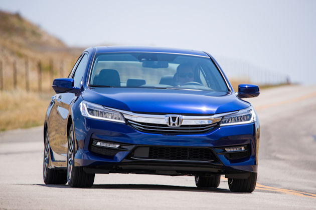 2017 Honda Accord Hybrid front