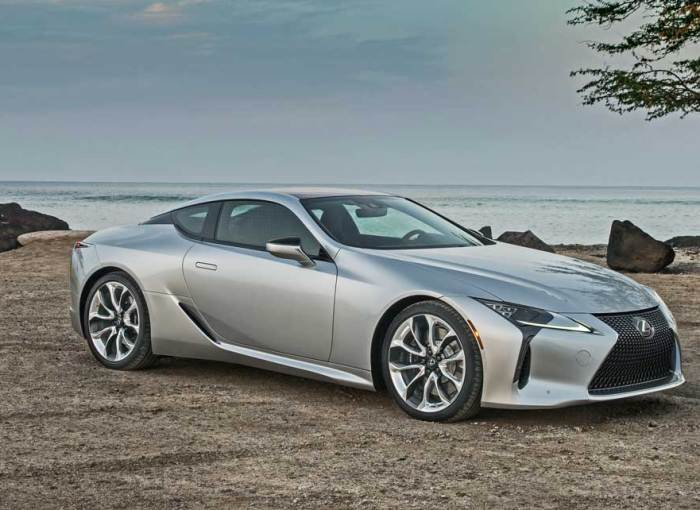 2018 Lexus LC 500 and LC500h Test Drive – Our Auto Expert