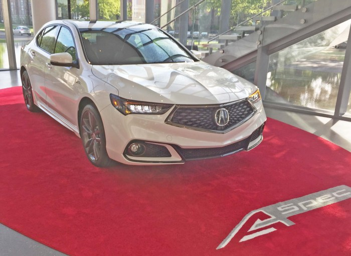 Acura TLX A-Spec RSF