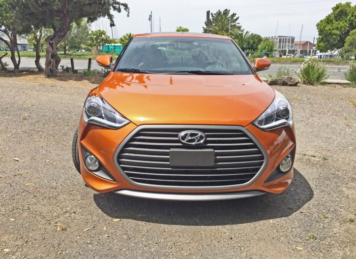Hyundai Veloster Turbo Nose