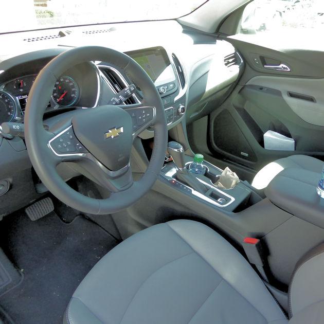 2018 Chevy Equinox Interior: 2018 Chevrolet Equinox Test