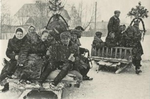 μετανάστες για δουλειά στη Λευκορωσία το 1954