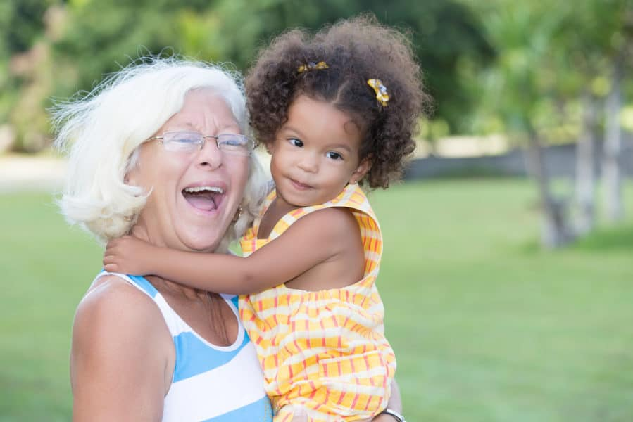 When a Toddler (Only!) Wants Grandma