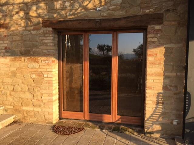 Three panel French door