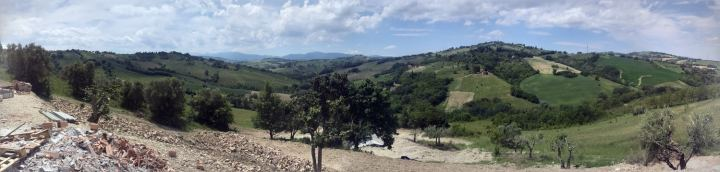 Panorama Behind the House
