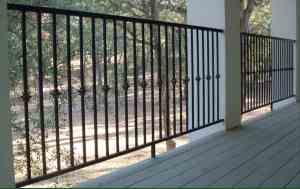 Terrazza railing option