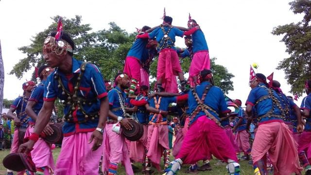 मोरङमा संस्थाल जातीको साँस्कृतिक नृत्यको रौनक ( फोटो फिचर)