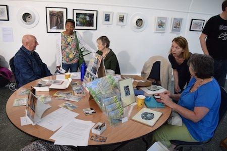 Art sales table