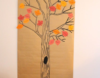 Our Boy Life | Thanksgiving Thankful Tree
